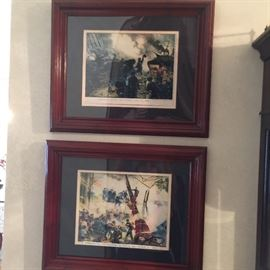 Part of a collection military pictures