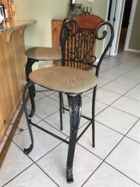 One of 3 bar stools