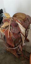 Vintage King Ranch Western Saddle