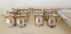 King Francis punch cups ( we have the boxes for each cup)