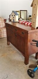large hand made buffet