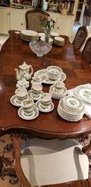 Mason's Manchu pattern china set