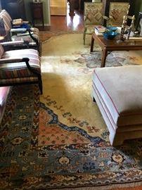 large Oushak rug