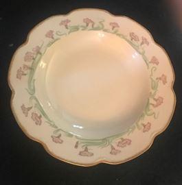 Haviland soup bowls