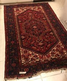"Oriental rug, 8'4"" x 4'3"""