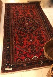 Oriental rug, 7'x4'