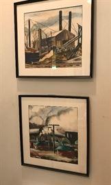 Katharine Fort watercolors