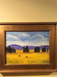 Jim Becker painting