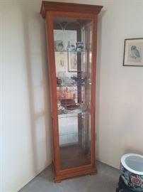 Slim Line Curio Cabinet