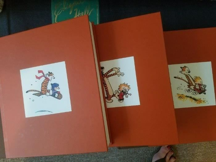 Complete Set of Calvin and Hobbes