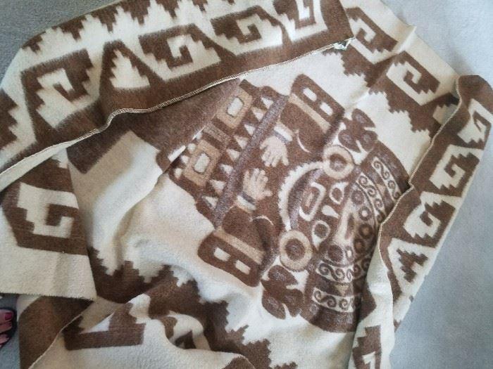 Peruvian Wool Blanket