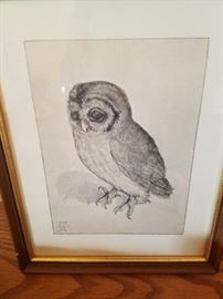 Litho Etching signed by artist