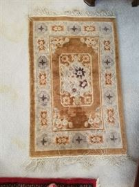 Persian Carpet in good shape.  Approx 2+ by 4'. Handknotted.