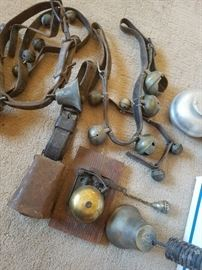 Sleigh bells, cow bells, door bells, etc.