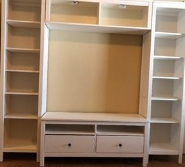 IKEA Entertainment Unit (can also be 2 Bookshelves and TV Stand)