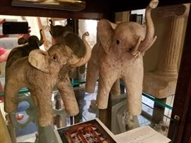 Hand Made Elephant Figurines