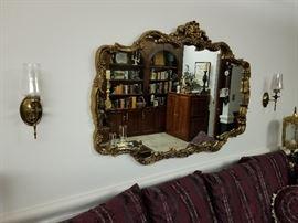 3' X 5' Wall Mirror