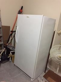 This is an excellent upright freezer, works great (owner must defrost)