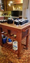 island, coffee set