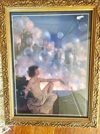 Bubbles Maxfield Parrish