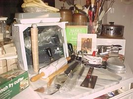 Rotisserie Oven & Kitchen Utensils