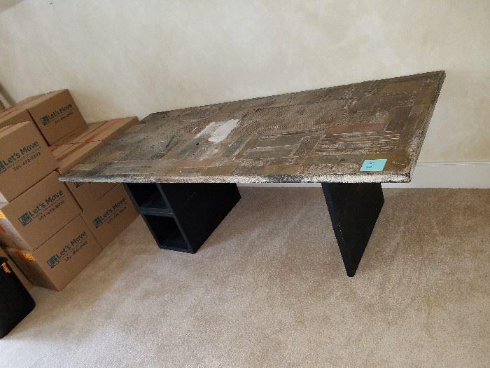 artsy desk