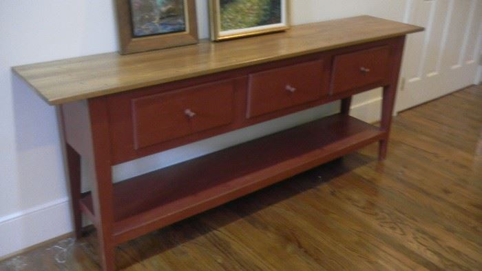 heavy console cabinet
