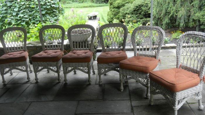 outdoor, wicker furniture set, always under cover