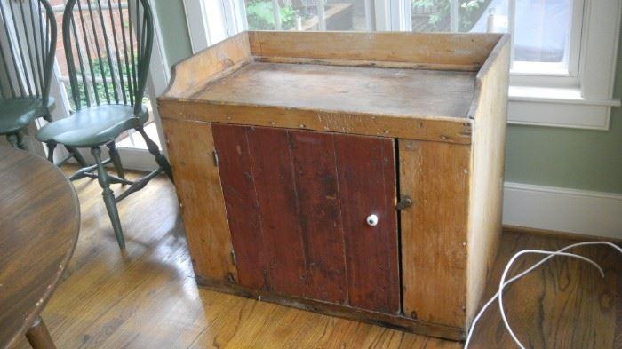 primitive chest/cabinet