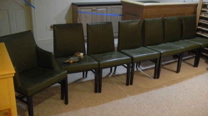 set of chairs by Dunbar