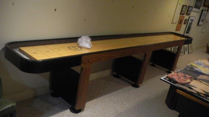 Champion shuffleboard table (14 feet long)