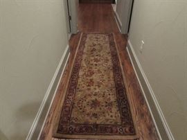 Hallway to master bedroom rug