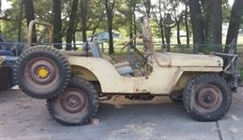 1947 Jeep Willys with Title!