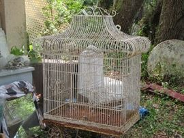 this bird cage is so big and so cool!