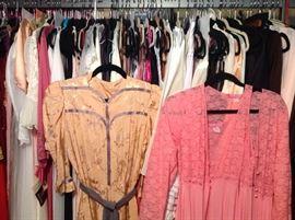 A Vintage rack full