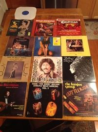 Just a sampling of the Belly dance record collection.