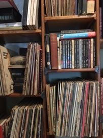 See other photos....many, many LPs, many genres, also 45s