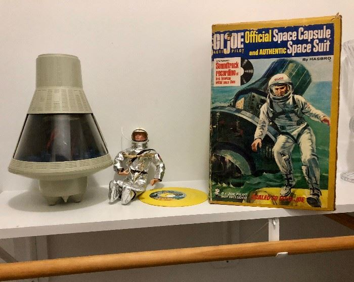 1966 GI Joe Official Space Capsule