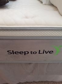 Queen size Sleep to Live mattress - like new