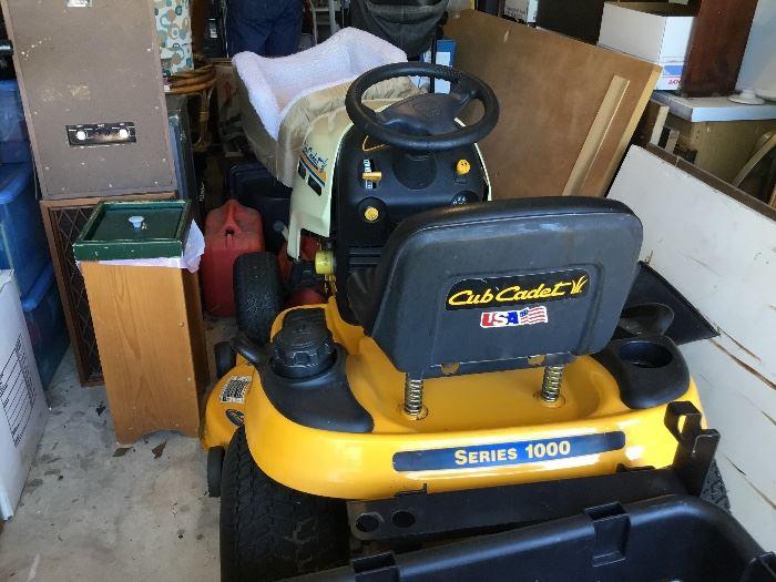 Club cadet lawn mower available via silent bids