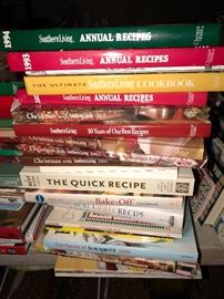 Many cook books