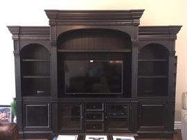 Beautiful Black entertainment Cabinet (T.V. not included)
