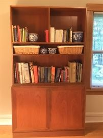 Teakbook shelf midcentury