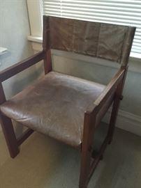 Water buffalo teak chair