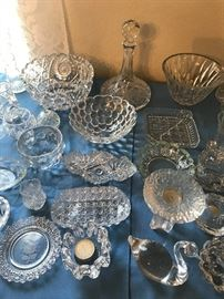 Waterford. Orrefors, and Victorian Glass