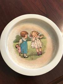 Rare Buffalo Pottery Campbell's Soup Kids