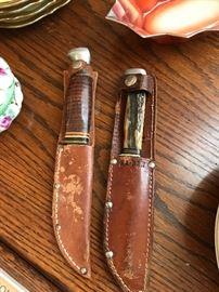 2 K-Bar Knives