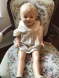 Antique Composition Doll- So Cute