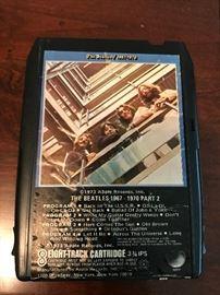 Beatles 8- Track Tape
