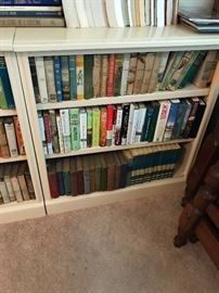 The Book Cases are to house the books but for sale if anyone needs them